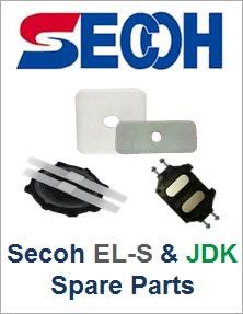 Secoh EL-S & JDK Spare Parts