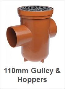 110mm Gulleys & Hoppers