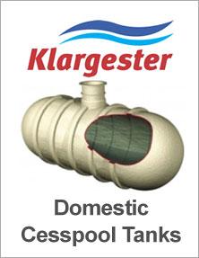 Klargester Domestic Cesspool Tanks