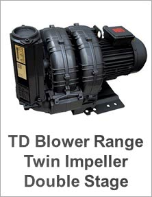 FPZ TD Twin Impeller Twin Stage