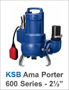 KSB Ama Porter 600 Series Range